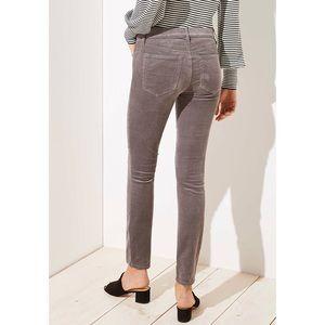 Ann Taylor LOFT MODERN SKINNY CORDUROY Size 28/6